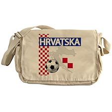Hrvatska Croatia Futbol Messenger Bag