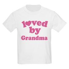 Loved By Grandma T-Shirt