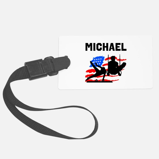 GYMNASTICS CHAMP Luggage Tag