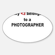 Funny News photographer Decal