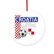 croatia-futballC.png Ornament (Round)
