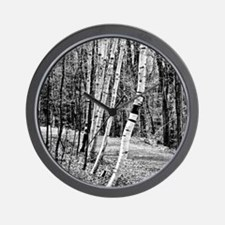 Birch Sentinels Wall Clock