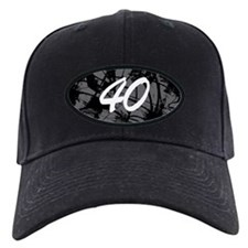 Grunge 40th Birthday Baseball Cap