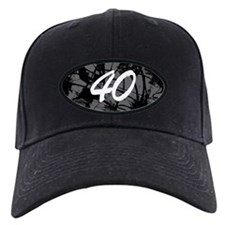 Grunge 40th Birthday Baseball Hat