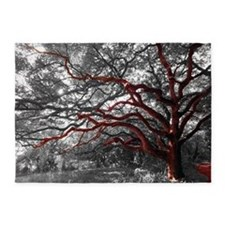 Photo Tree Branch 5'x7' Area 5'x7'area Rug