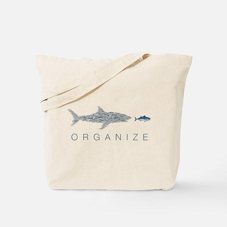 Organize Fish Tote Bag
