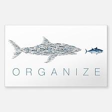 Organize Fish Decal