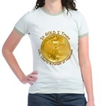Gold Liberty 3 Jr. Ringer T-Shirt