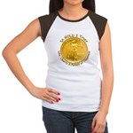 Gold Liberty 3 Women's Cap Sleeve T-Shirt