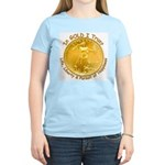 Gold Liberty 3 Women's Light T-Shirt