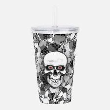 Skulls With Eyes Acrylic Double-wall Tumbler