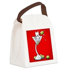 Olive You Westie Canvas Lunch Bag