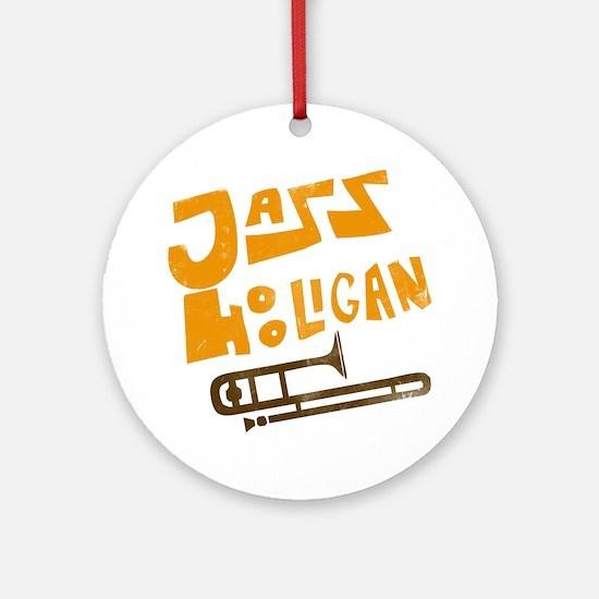 jazz_hooligan.png Ornament (Round)