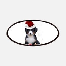 Christmas Bernese Mountain Dog Patches