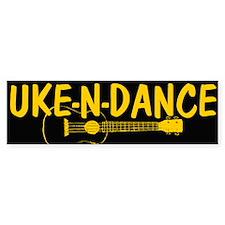 Uke n Dance Bumper Bumper Sticker