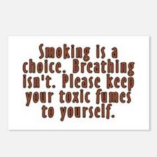 Smoking is a choice - Postcards (Package of 8)