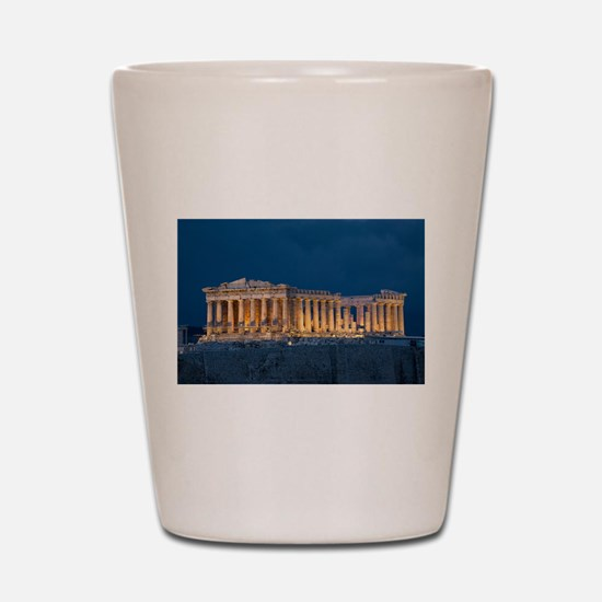 Parthenon Shot Glass