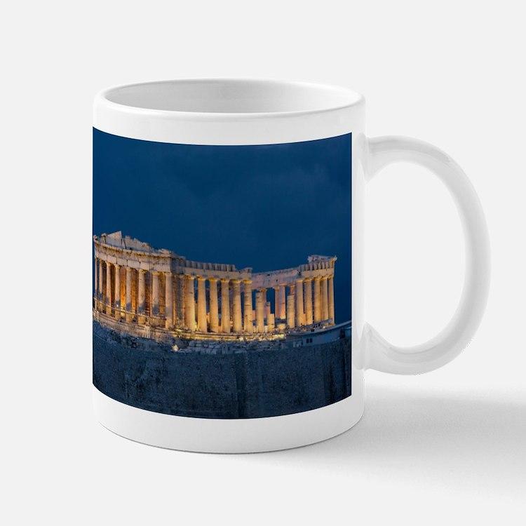 Parthenon Mugs