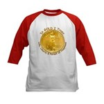 Gold Liberty 3 Kids Baseball Jersey