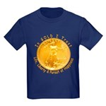 Gold Liberty 3 Kids Dark T-Shirt