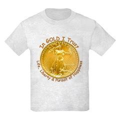 Gold Liberty 3 T-Shirt