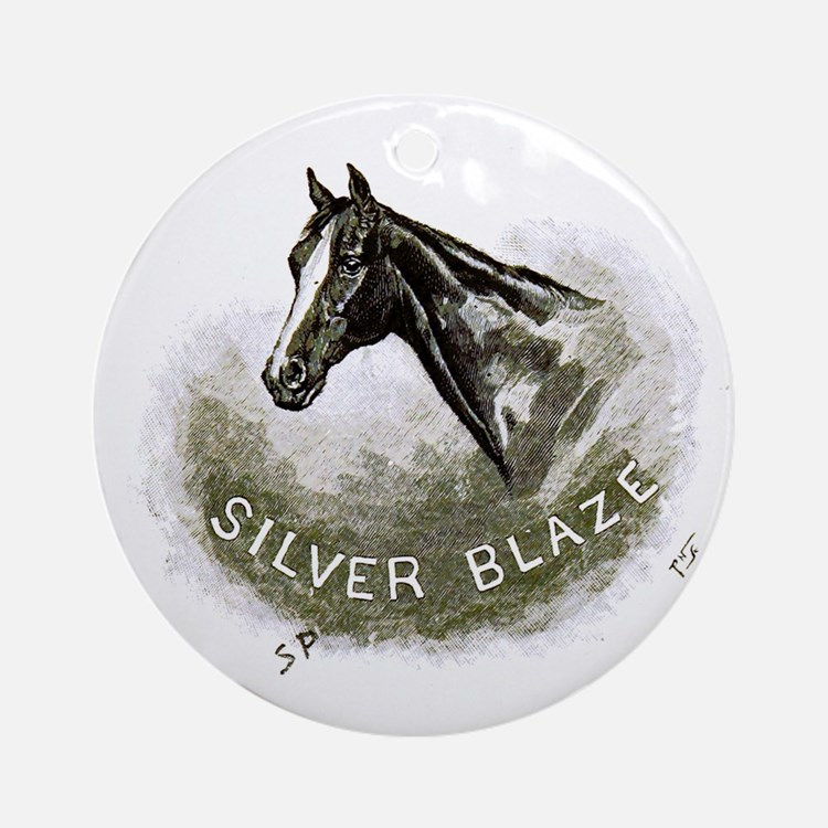 Silver Blaze Ornament (round)