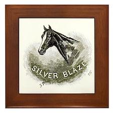 Silver Blaze Framed Tile