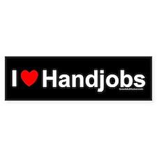 Handjobs Bumper Sticker