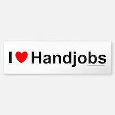 Handjobs Bumper Bumper Sticker