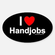 Handjobs Decal