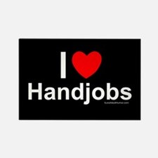 Handjobs Rectangle Magnet