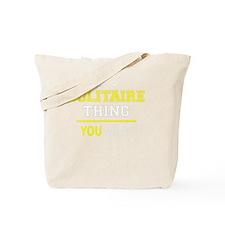 Unique Solitaire Tote Bag