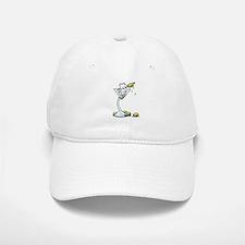 KiniArt Westie Martini Baseball Baseball Cap