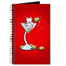 KiniArt Westie Martini Journal