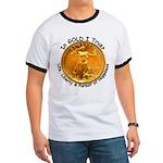 Gold Liberty 4 Ringer T