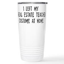 Cute Construction and real estate profession Travel Mug