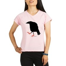 Cute Crow Performance Dry T-Shirt