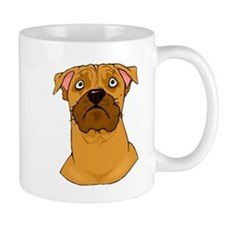Boxer Face Mugs