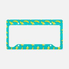 Bananas Pattern License Plate Holder