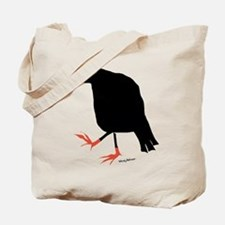 Unique Crow Tote Bag