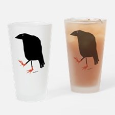 Unique Crow Drinking Glass