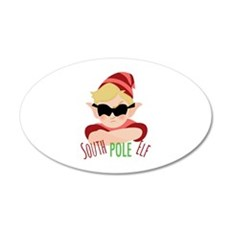 South Pole Elf Wall Decal