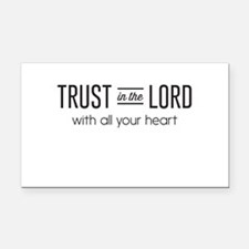 Trust in the Lord with All Your Heart Rectangle Ca