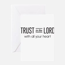 Trust in the Lord with All Your Heart Greeting Car