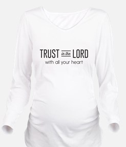 Trust in the Lord with All Your Heart Long Sleeve