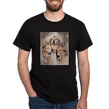 Golden Retrievers by Dawn Secord T-Shirt