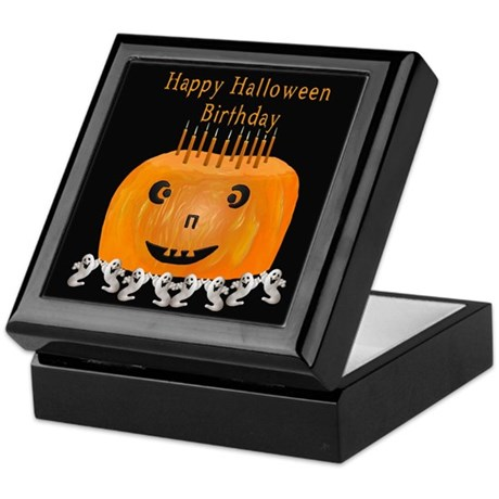 Halloween Birthday Treasure Box