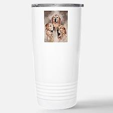 Golden Retrievers by Dawn Secord Travel Mug