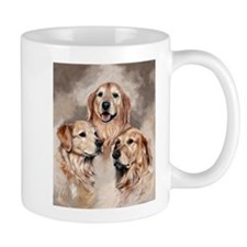 Golden Retrievers by Dawn Secord Mugs