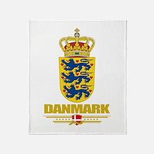 Denmark COA(Flag 10).png Throw Blanket
